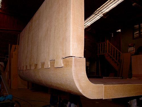 Mesa madera de haya