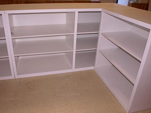 Mobiliario interior Melanina blanca