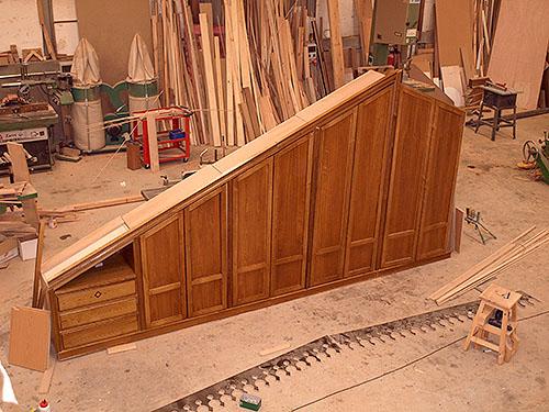 Carpinter a en madera almend riz - Buhardillas de madera ...