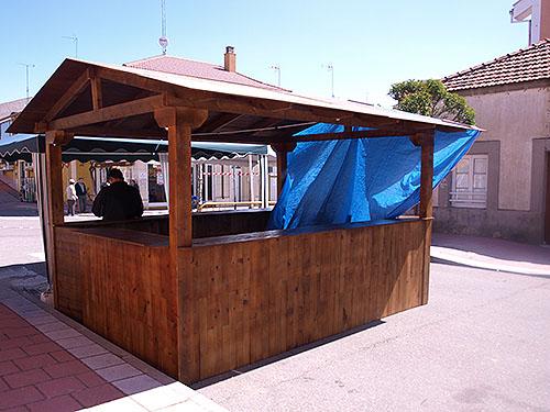 Caseta Madera de Pino del Norte