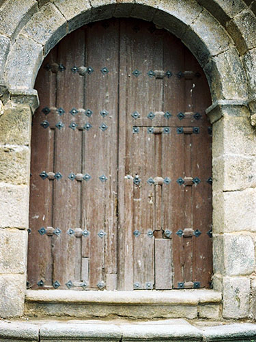 Puerta Iglesia de Ledesma