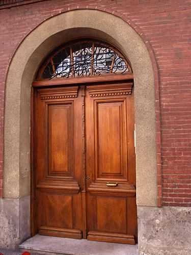 Puerta San José Madera de Pino